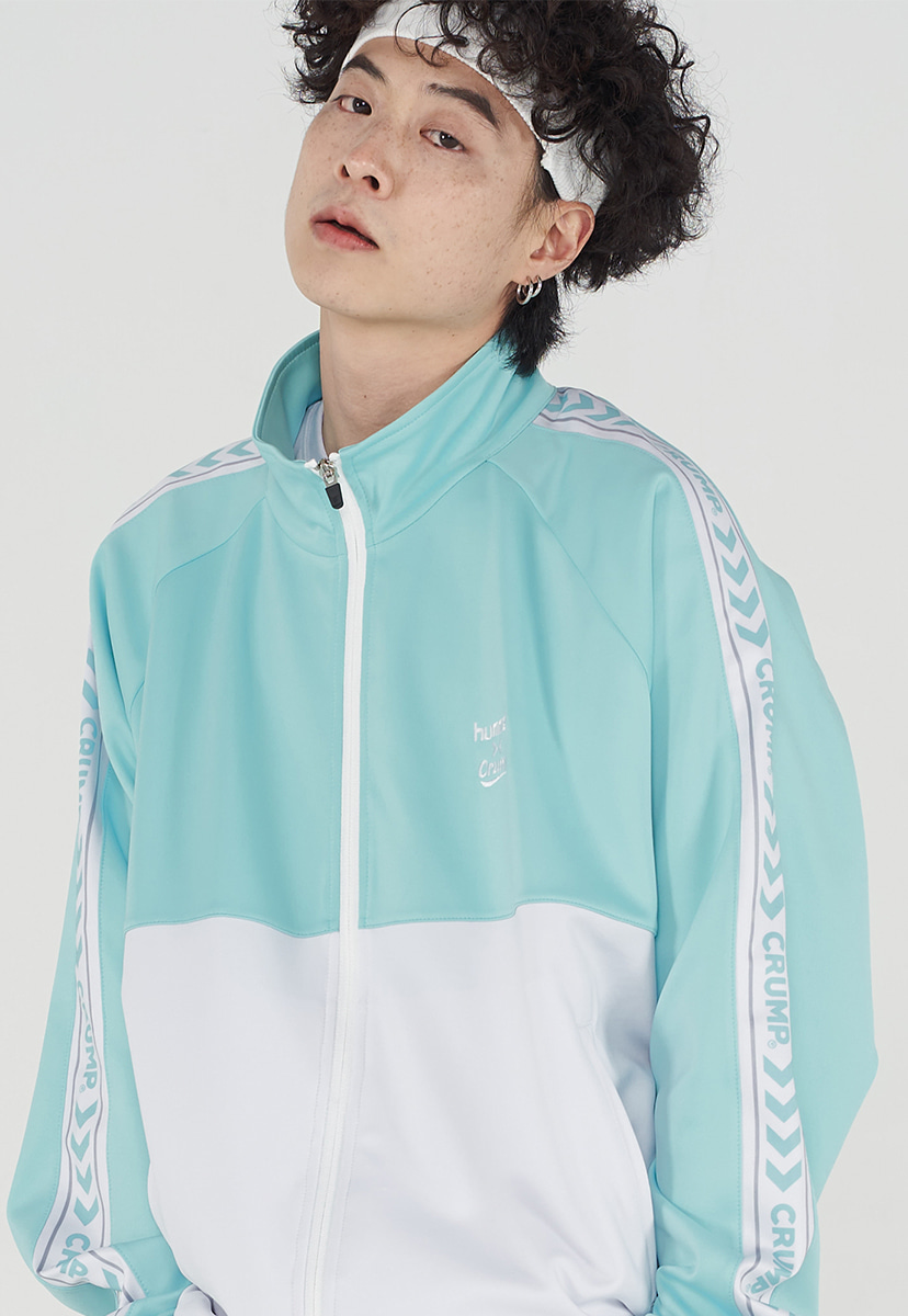 [험멜X 크럼프] union logo track top (HO003-1)