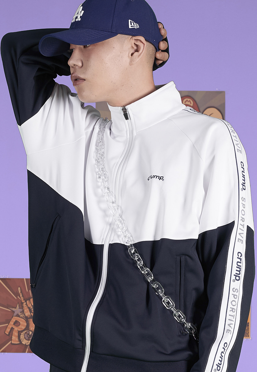 [크럼프] Crump sportive track top (CO0040-1)