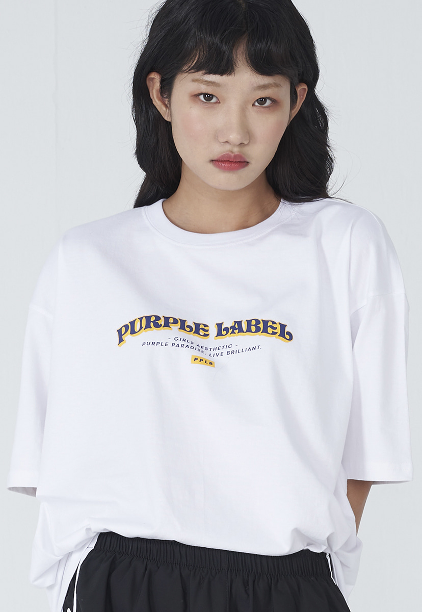 [퍼플라벨] Purple label arch logo tee (PT0008-2)