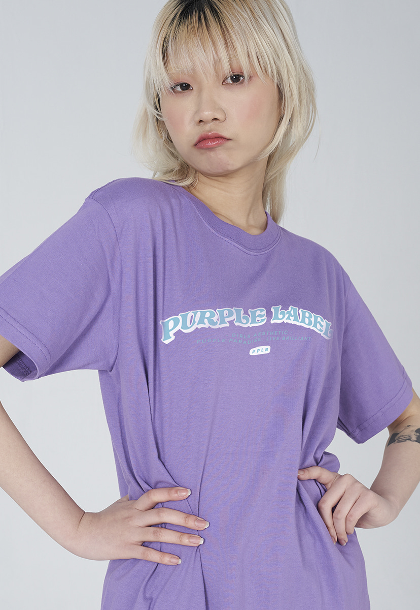 [퍼플라벨] Purple label arch logo tee (PT0008-1)