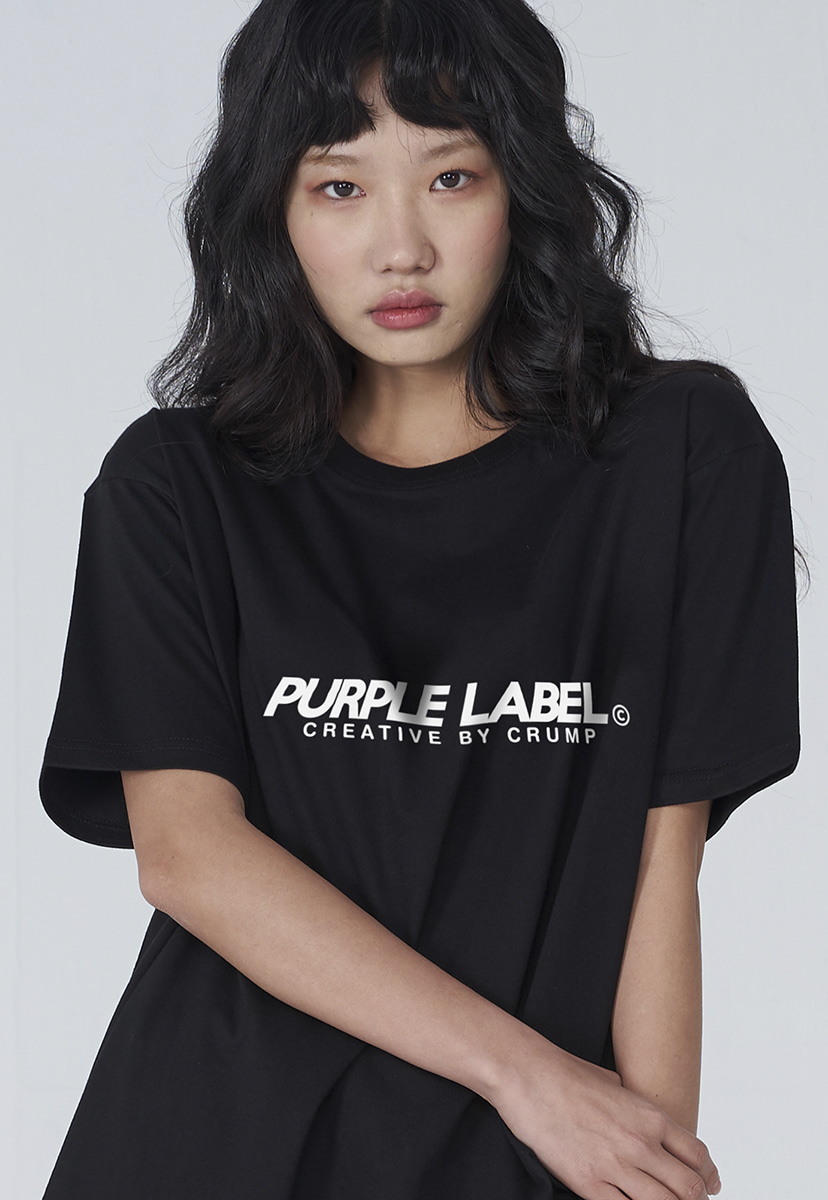 [퍼플라벨] Purple label basic logo tee (PT0002)