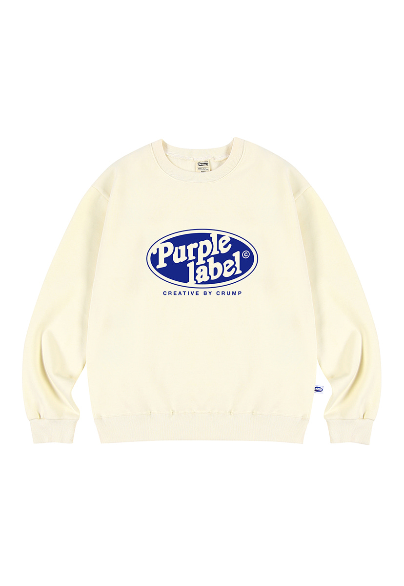 [퍼플라벨] Purple label Circle Line crewneck (PT0024-2)