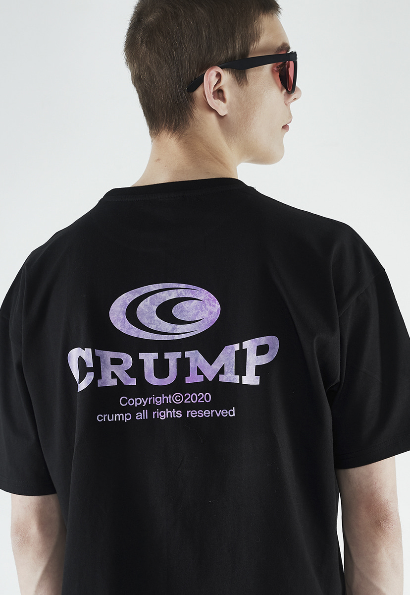 [크럼프] Crump gradation logo t-shirt (CT0260)