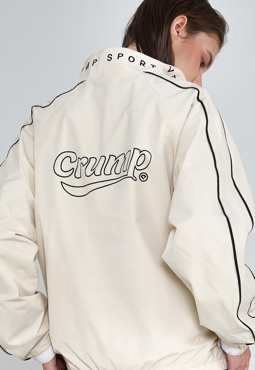 [크럼프] Crump signature logo track jacket (CO0039-2)