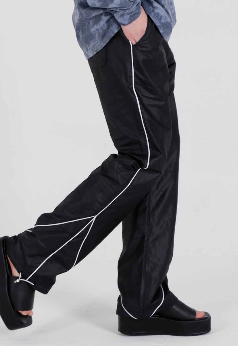 [퍼플라벨] polished coating string jogger pant (PP0018)