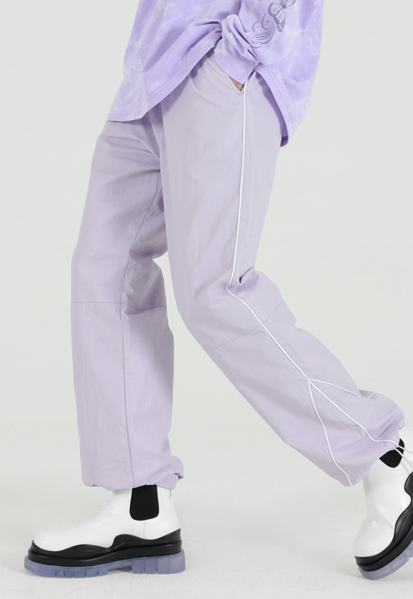 [퍼플라벨] polished coating string jogger pant (PP0018-2)
