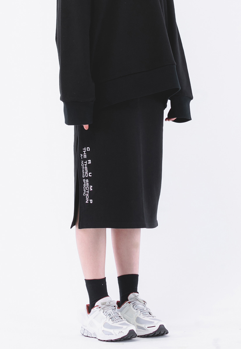 [크럼프] Crump terry sweat skirt (CB0001)