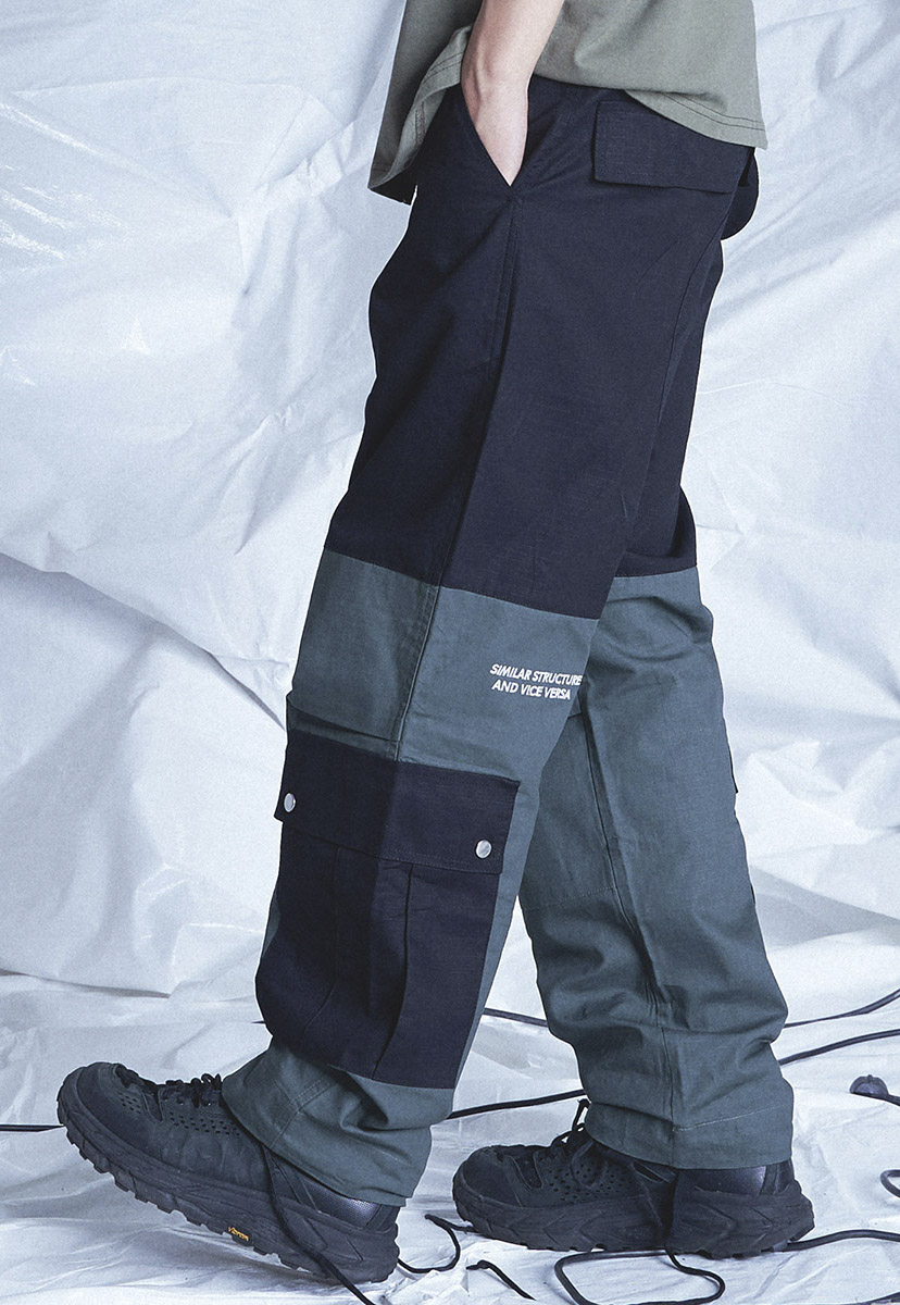 [테크플레이버] Techflavor effects big cargo jogger pants (TP0021)