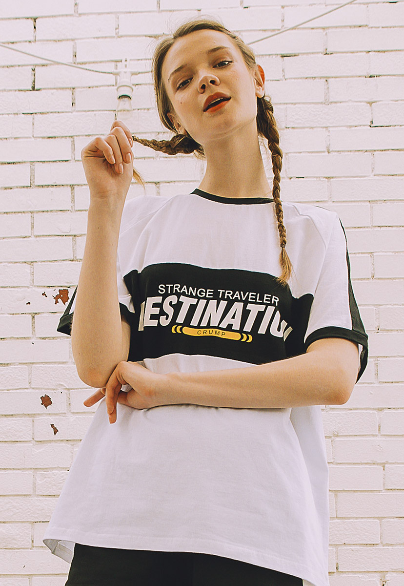 [크럼프] Crump destination tee (CT0215-2)