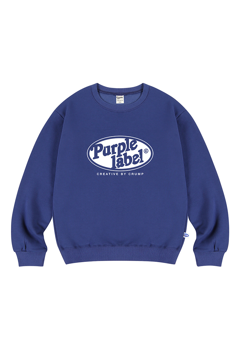 [퍼플라벨] Purple label Circle Line crewneck (PT0024)