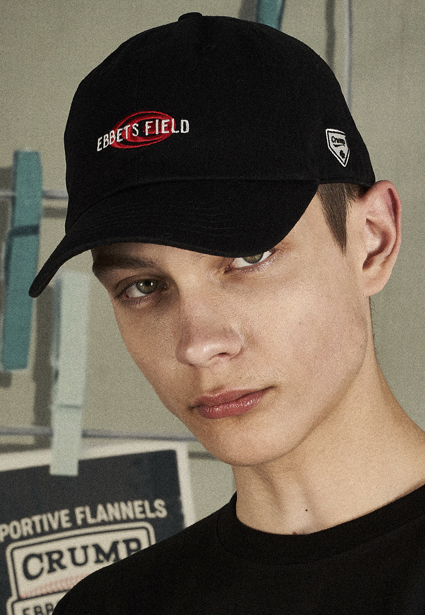 [크럼프X 이벳필드] ORIGINAL LOGO BALL CAP (EA003)
