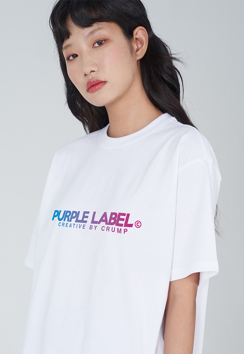 [퍼플라벨] PURPLE LABEL GRADATION LOGO TEE (PT0028-3)