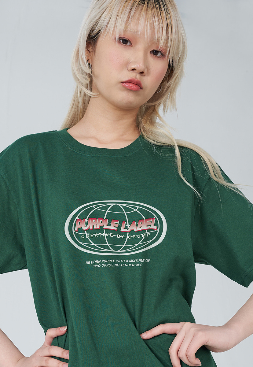 [퍼플라벨] PURPLE LABEL EARTH LOGO TEE (PT0030-1)