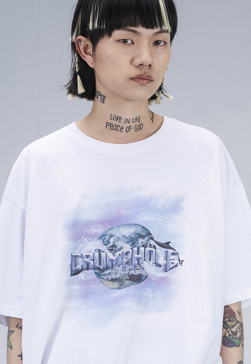 [크럼프] HOLE LOGO T-SHIRT (CT0268-2)