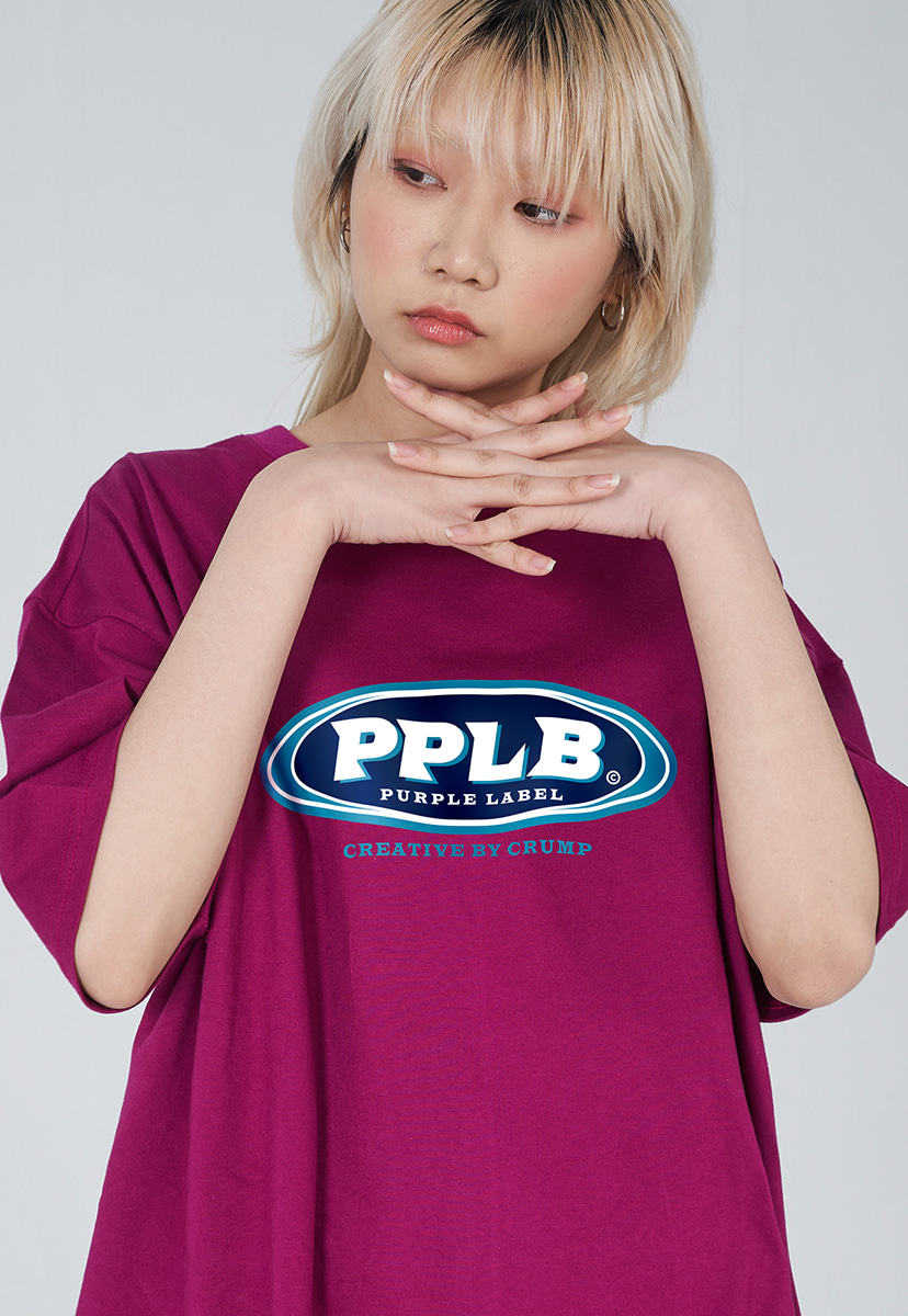 [퍼플라벨] PURPLE LABEL COLOR LOGO TEE (PT0038-1)