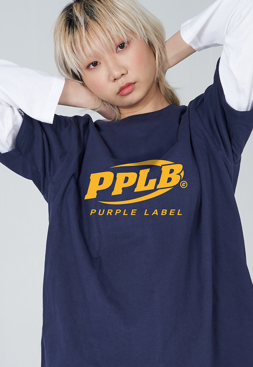 [퍼플라벨] PURPLE LABEL PPLB BIG LOGO TEE (PT0037-1)